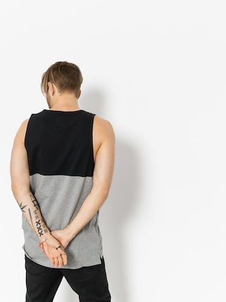 Koszulka Supra Block Tank (black/heather grey)