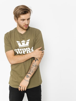 T-shirt Supra Above Reg (olive white)