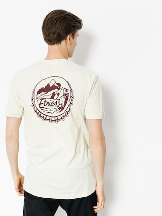 T-shirt Etnies Bottlecap (dirty white)
