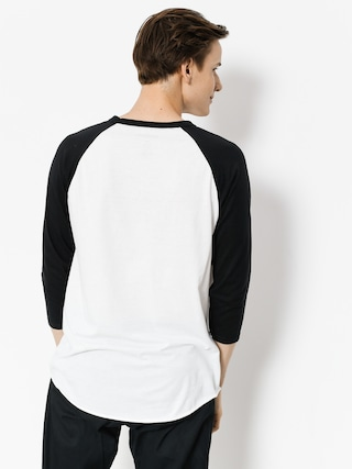 Koszulka Etnies 86 Triblend Raglan (white/black)
