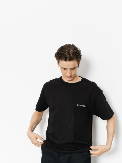 T-shirt Emerica Pure Embroidery (black)