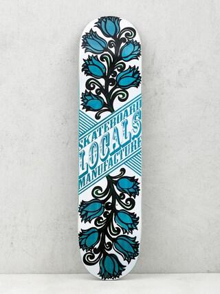Deck Locals Skateboards Tulipan (blue)