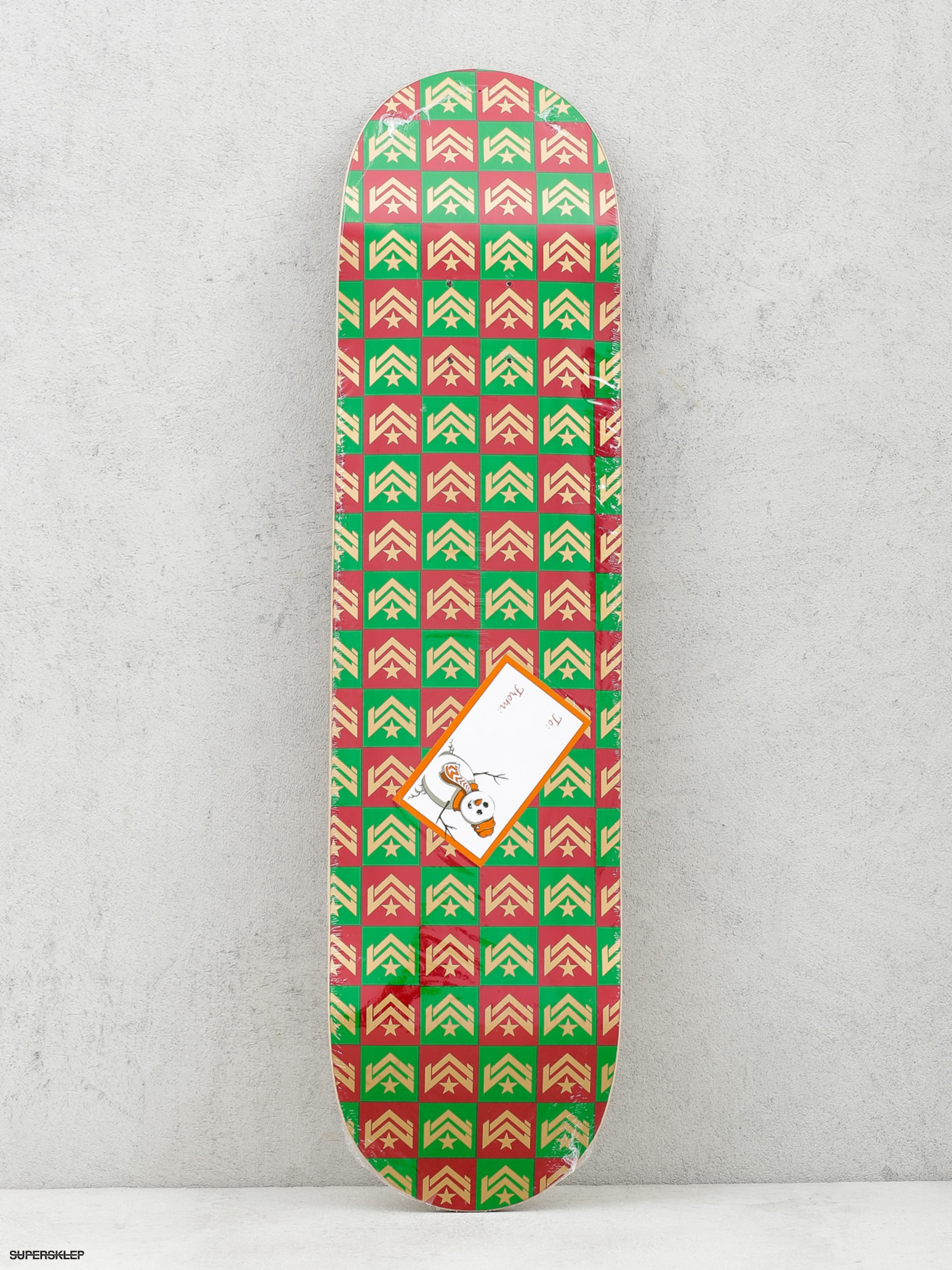 Deck Minilogo Chevron Gift Wrap (red/green)
