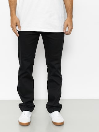 Spodnie Etnies Essential Straight Chino (black)