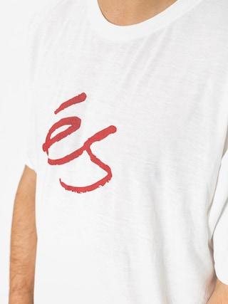 T-shirt Es Mid Script Tech (white)