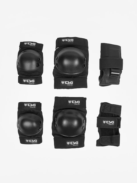 Ochraniacze TSG Junior Set (black)
