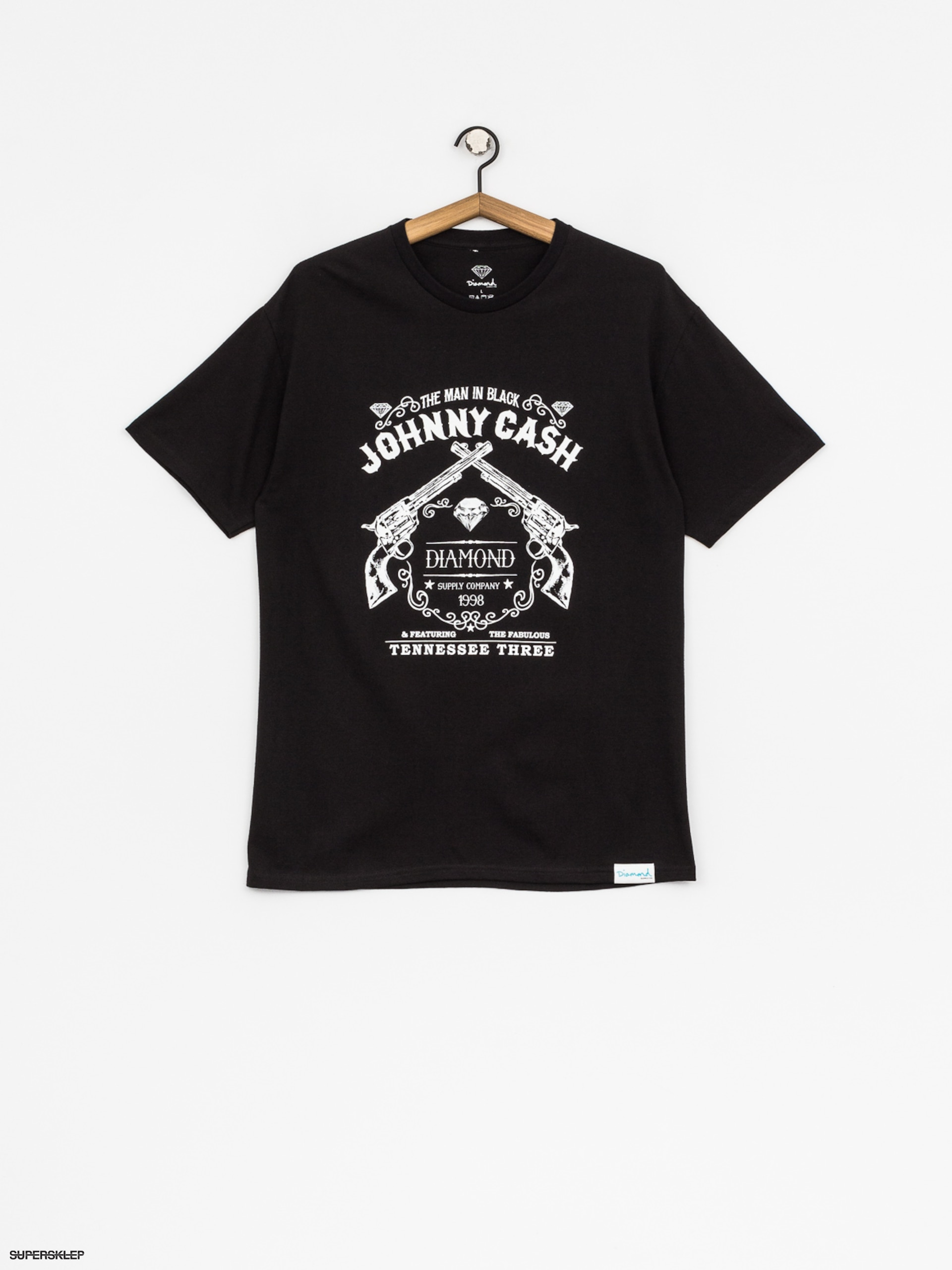 T-shirt Diamond Supply Co. Tennessee Three (black)