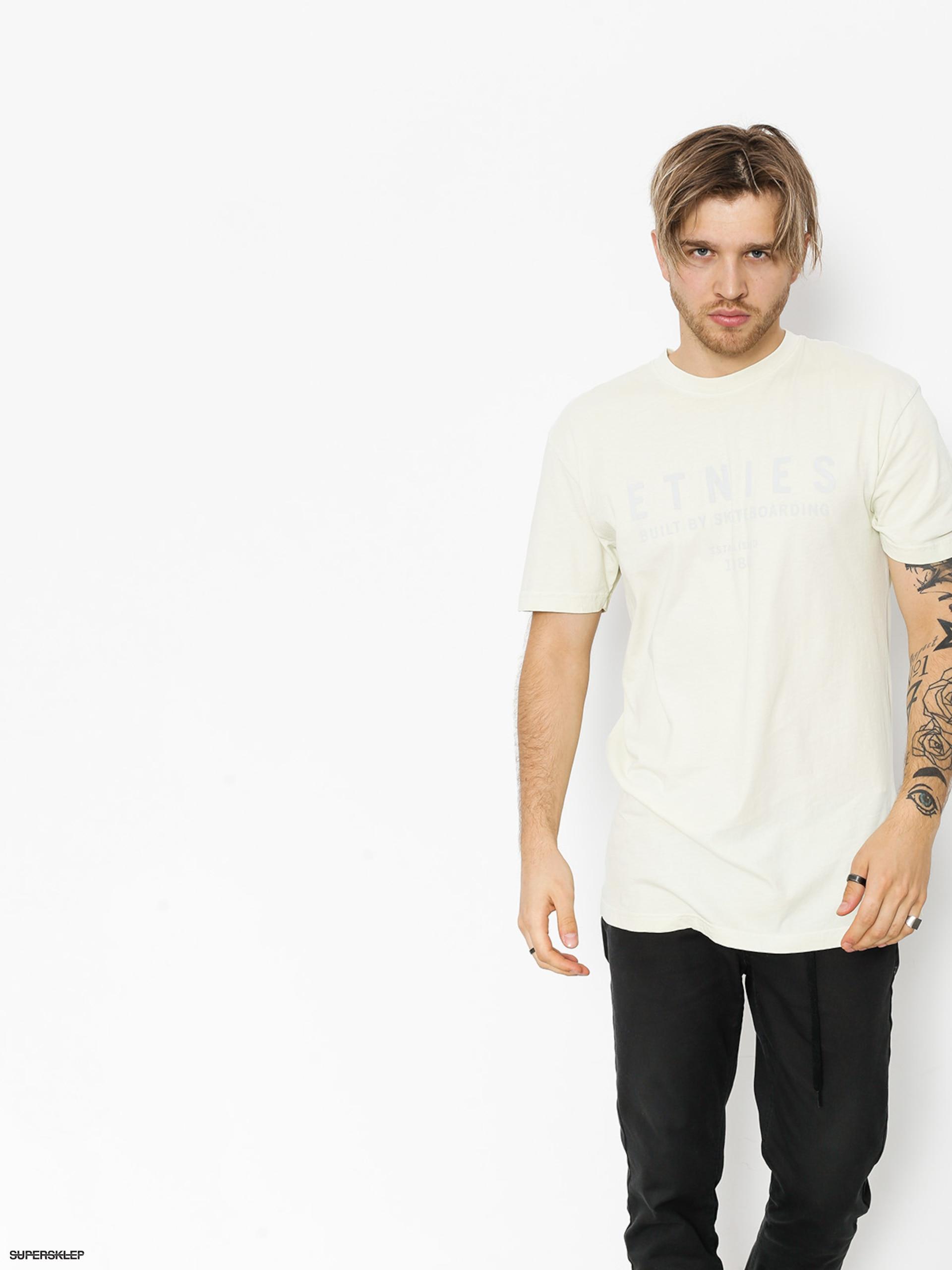 T-shirt Etnies Established (dirty white)