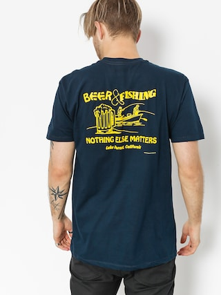 T-shirt Etnies Beer And Fish (navy)