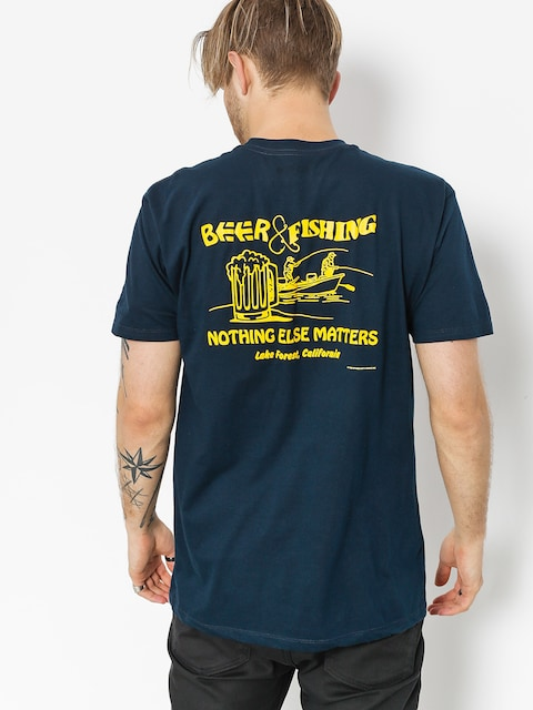 T-shirt Etnies Beer And Fish (navy)