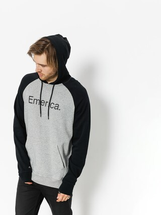 Bluza z kapturem Emerica Purity HD (black/grey)