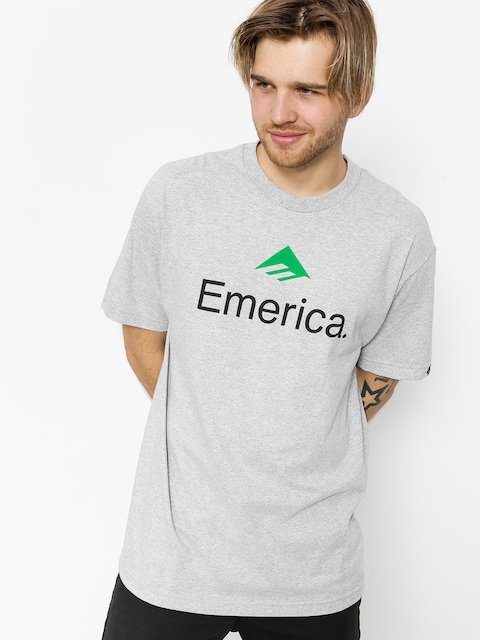 T-shirt Emerica Emerica Skateboard Logo (grey/heather)