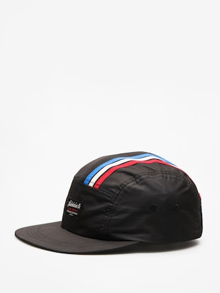 Czapka z daszkiem Turbokolor Olympik 5 Panel ZD (black)