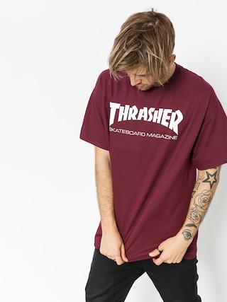 T-shirt Thrasher Skate Mag (maroon)