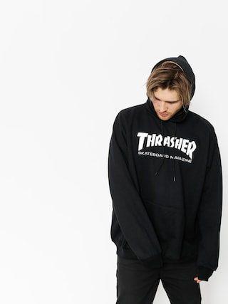 Bluza z kapturem Thrasher Skate Mag HD (black)