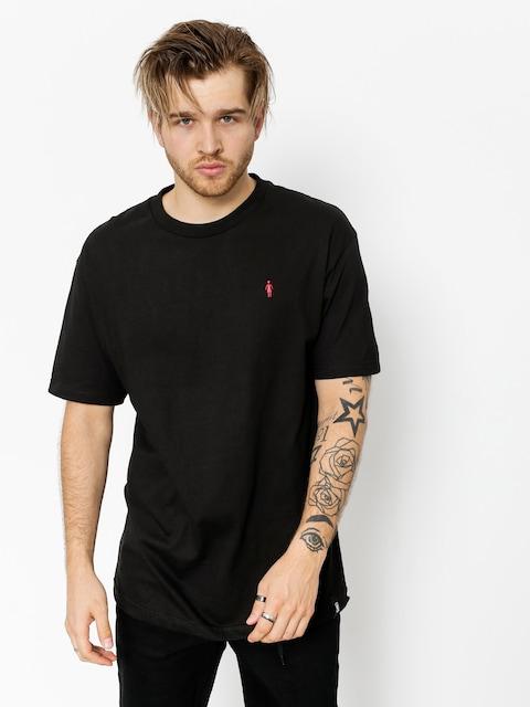 T-shirt Girl Skateboard Micro Emb (black)