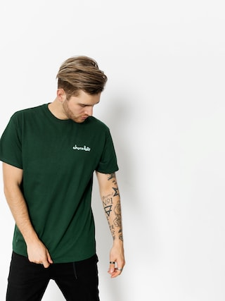 T-shirt Chocolate Printed Mini Chunk (forest green)