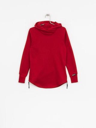 Bluza z kapturem Majesty Velvet Wmn (red)