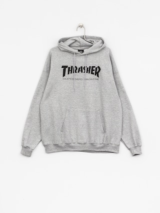 Bluza z kapturem Thrasher Skate Mag HD (grey)
