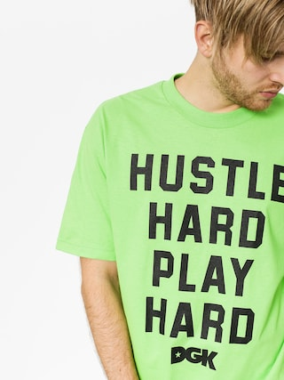 T-shirt DGK Loud (lime)