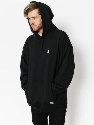 Bluza z kapturem Grizzly Griptape Og Bear Embroidered HD (black/white)