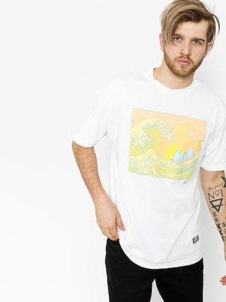 T-shirt Grizzly Griptape Wavey (white)