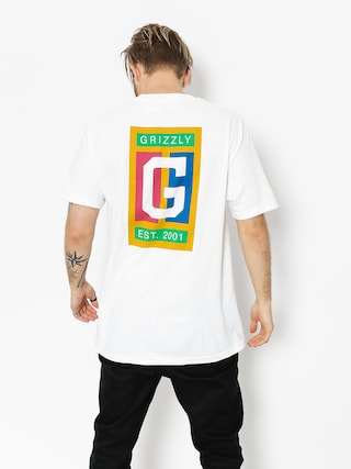 T-shirt Grizzly Griptape Off The Court (white)