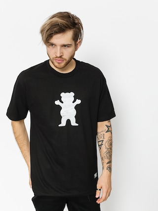 T-shirt Grizzly Griptape Woodland Og Bear (black)