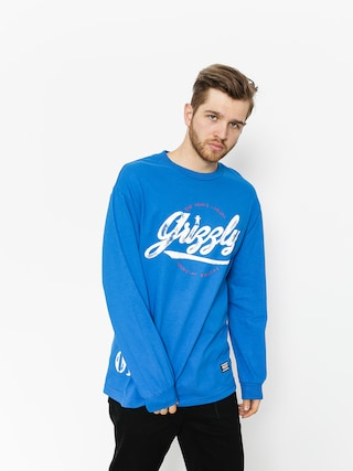 Longsleeve Grizzly Griptape Western Division (royal blue)