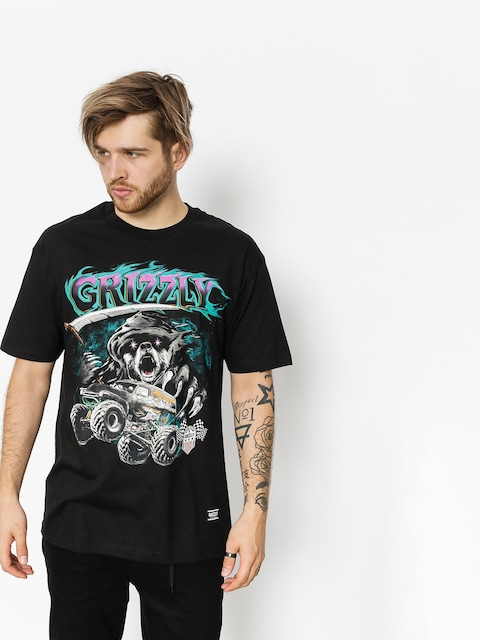 T-shirt Grizzly Griptape Cave Digger (black)