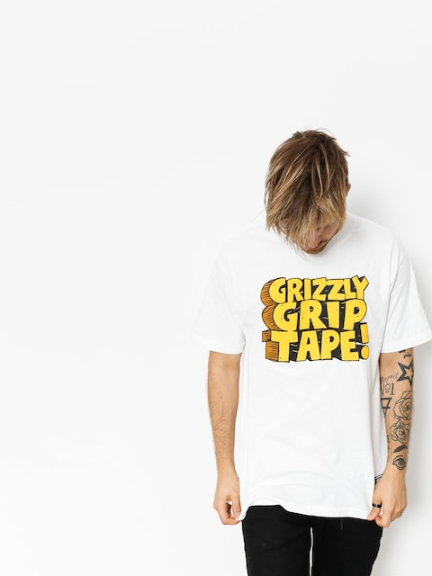 T-shirt Grizzly Griptape Nostalgic (white)