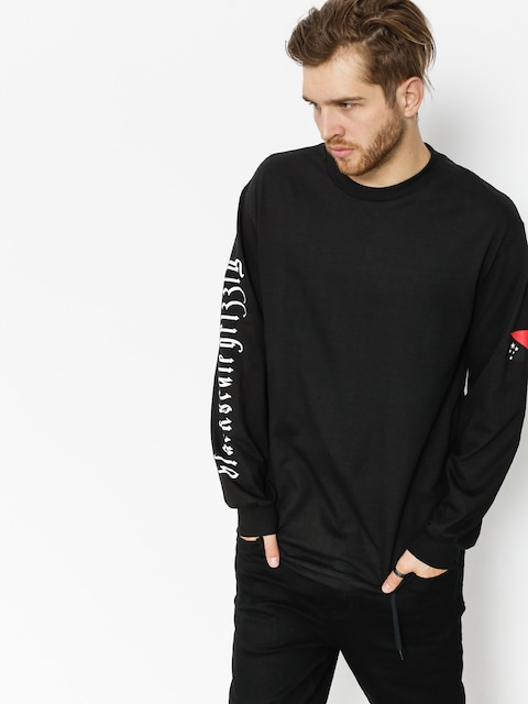 Longsleeve Grizzly Griptape Blvck Scale Grizzly Flag (black)