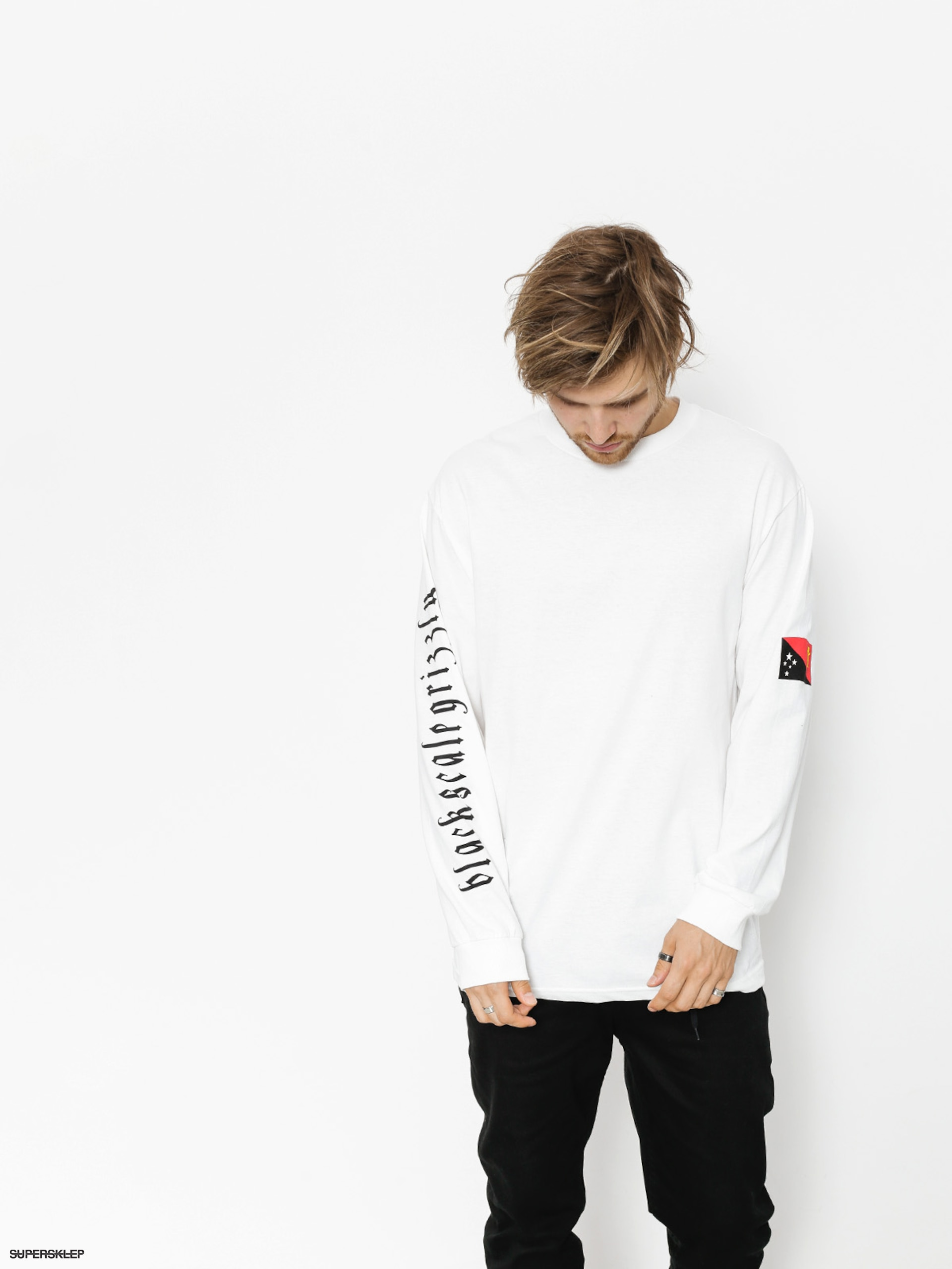 Longsleeve Grizzly Griptape Blvck Scale Grizzly Flag