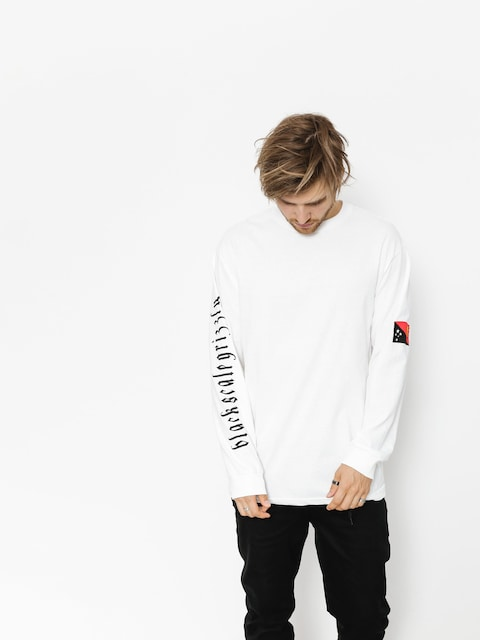 Longsleeve Grizzly Griptape Blvck Scale Grizzly Flag (white)