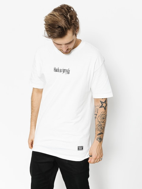 T-shirt Grizzly Griptape Blvck Scale Grizzly Repeat (white)