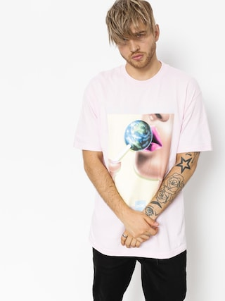 T-shirt DGK Our World 2 (pink)