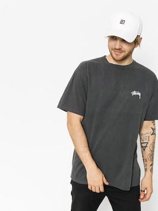 T-shirt Stussy Tribeman Pig Dyed (black)