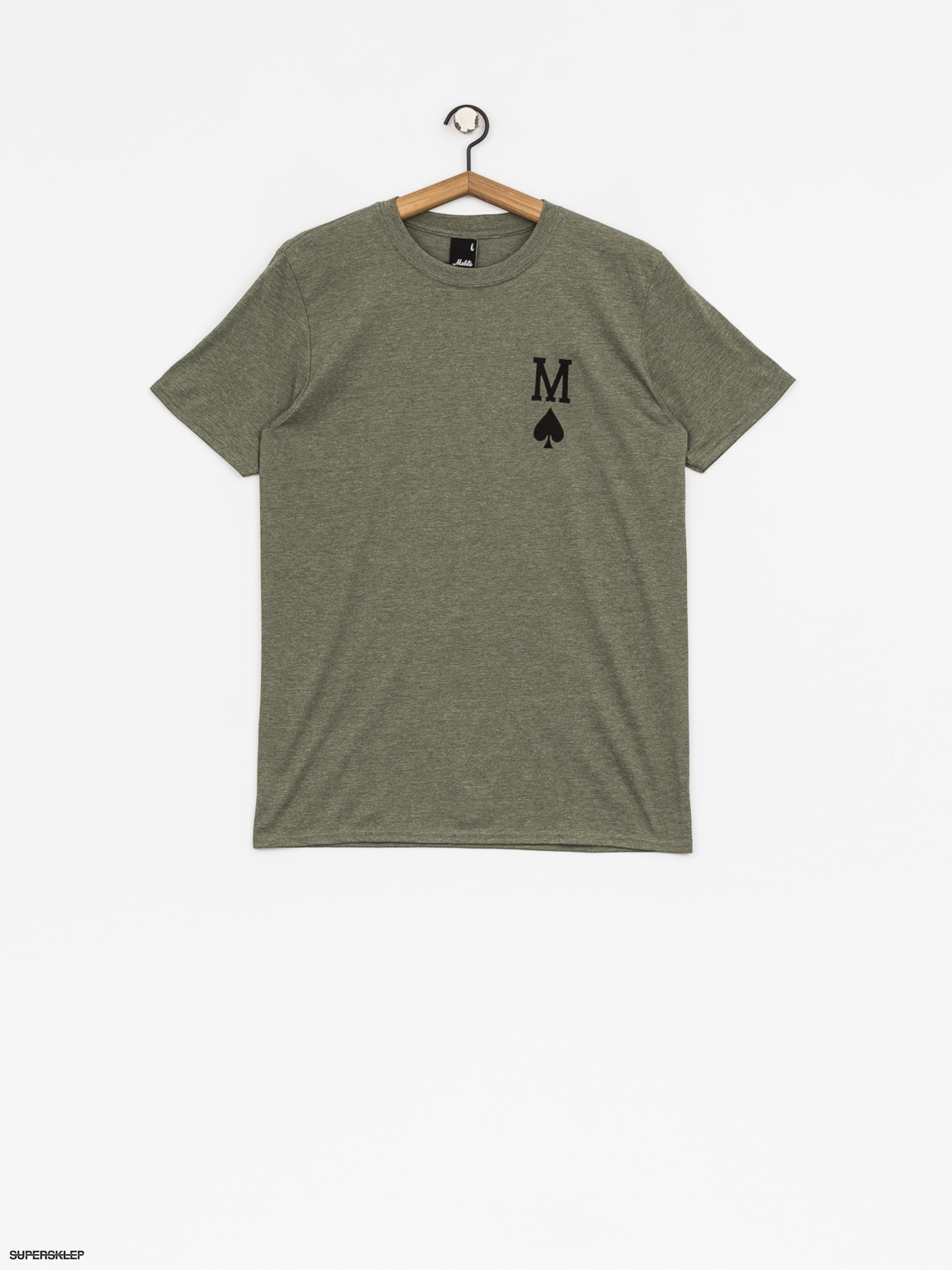 T-shirt Malita Pik (heather green)