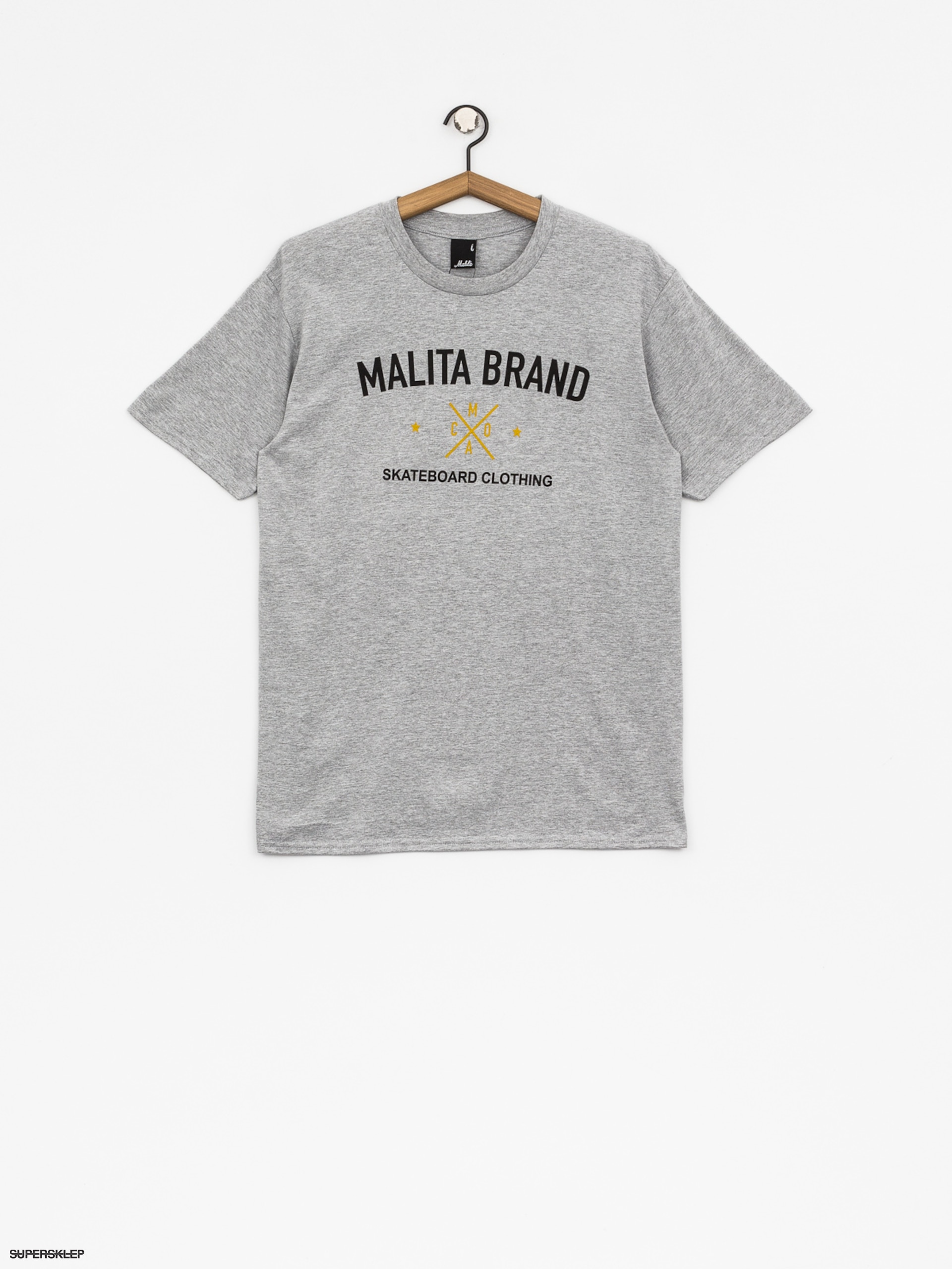 T-shirt Malita Brand (heather grey)