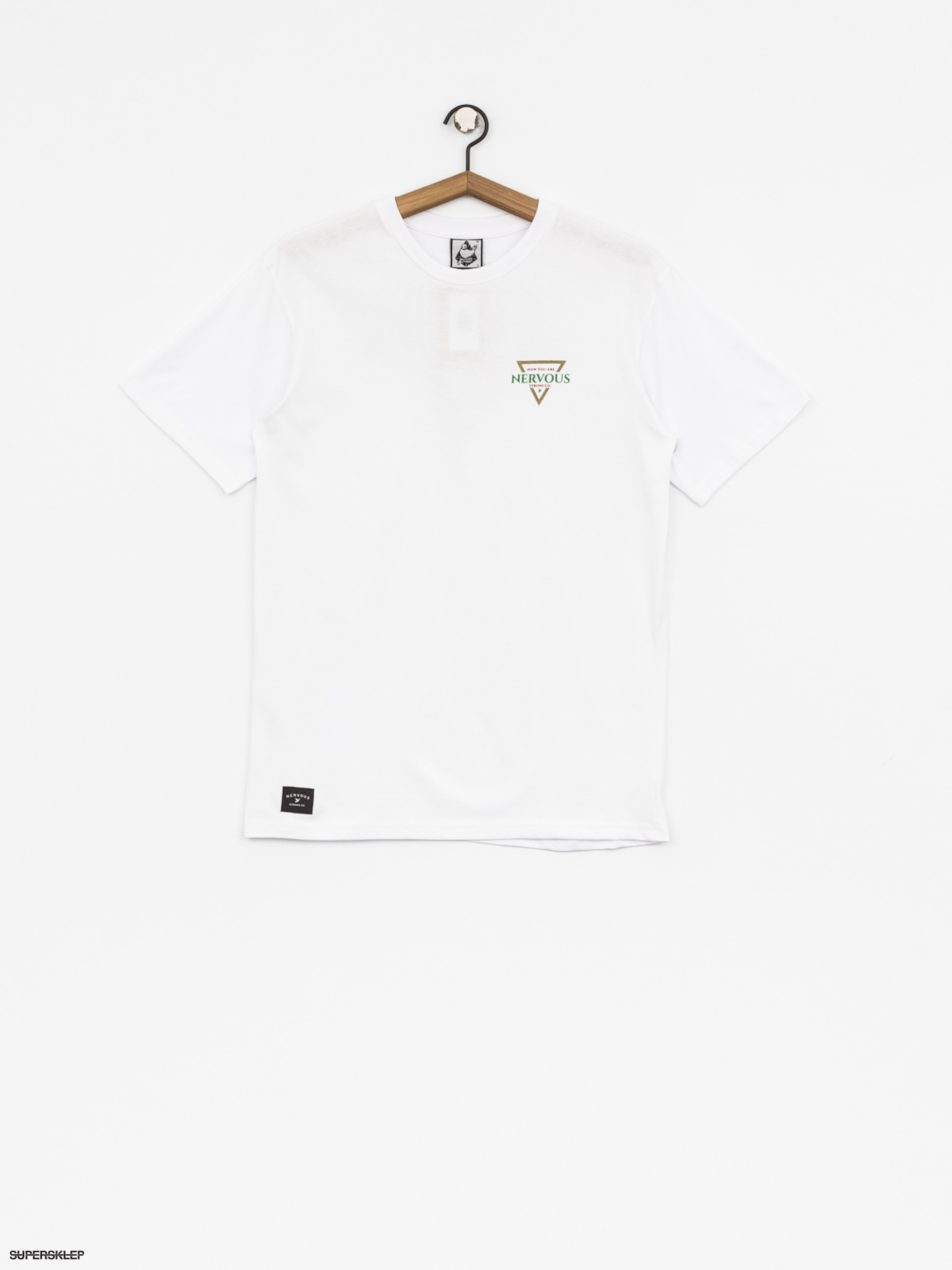 T-shirt Nervous Golden Tri (white)