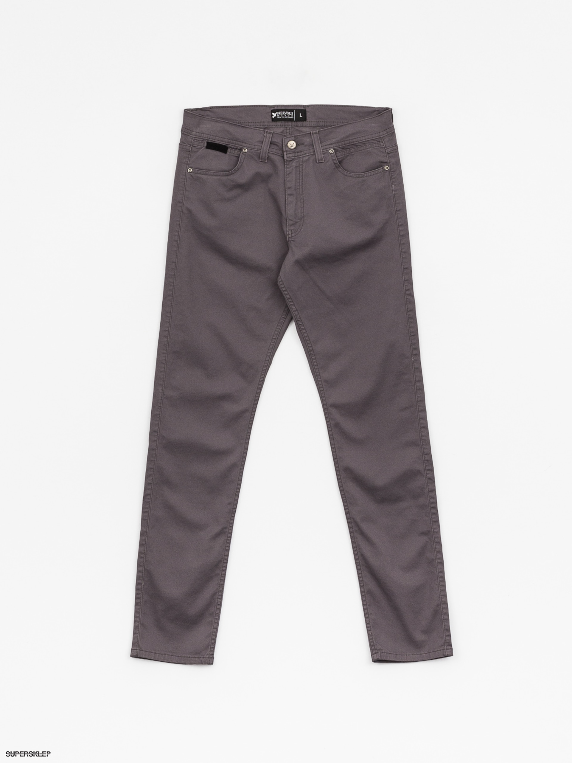Spodnie Nervous Turbostretch (grey)