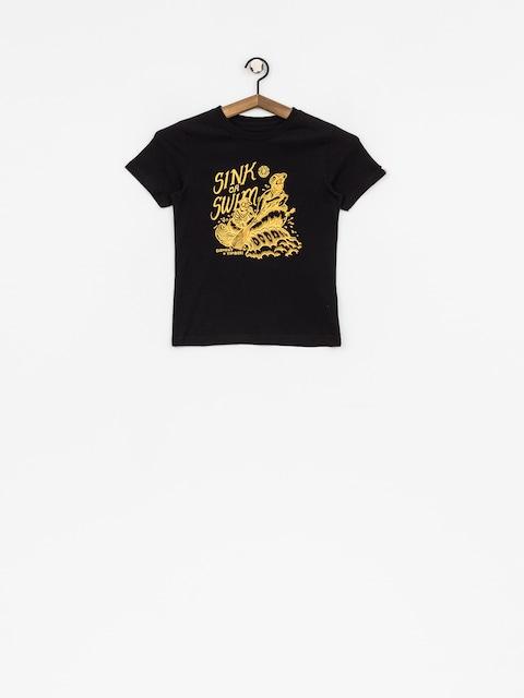 Dziecięcy t-shirt Element Rafters (flint black)