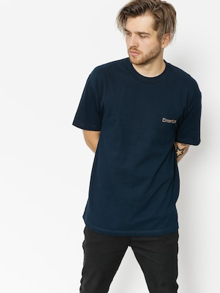 T-shirt Emerica Pure Embroidery (navy)