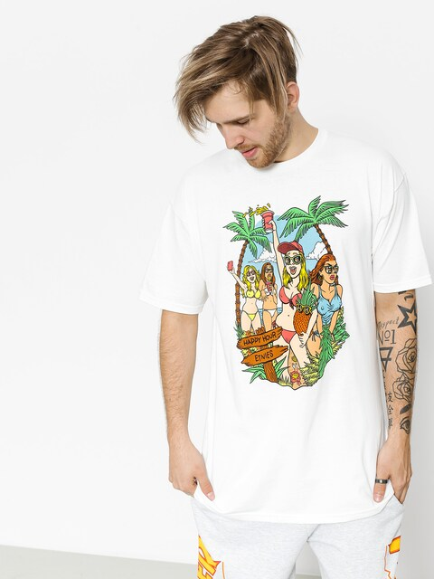 T-shirt Etnies Beach Party (white)