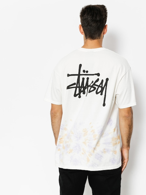 T-shirt Stussy Basic Stussy Td (natural/orange)