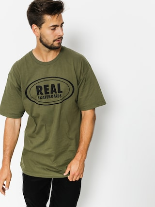 T-shirt Real Og Oval (green/black)