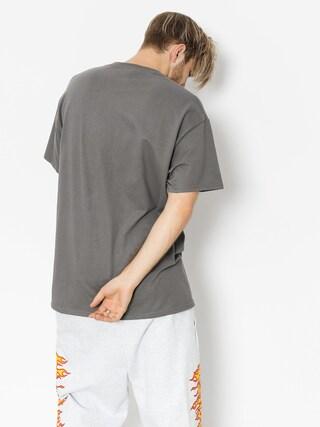 T-shirt Thrasher Flame Logo (charcoal grey)