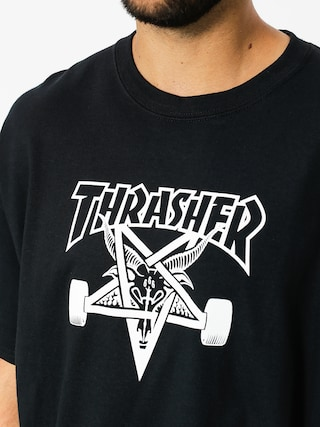 T-shirt Thrasher Skate Goat (black)