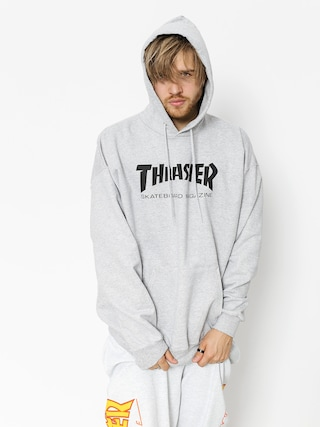 Bluza z kapturem Thrasher Skate Mag HD (grey)