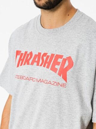 T-shirt Thrasher Skate Mag (grey/red)